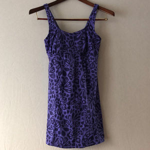 Lands' End Skirted One Piece Swimsuit Size 10